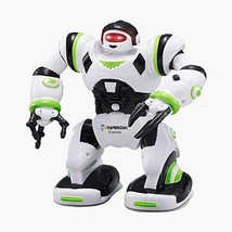YARMOSHI Walking Robot Toy - Battery Operated, Flexible Moving Arms, Pla... - $16.14