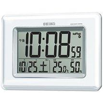 "SEIKO CLOCK ( Seiko clock ) radio digital wall clock twin -Pas hanging'uŒ""for te - $83.07"