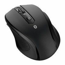 Bluetooth Wireless Mouse Optical Mice for PC Mac Android OS Tablets Black - $22.20