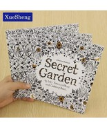 XUES® 24Pages Secret Garden English Edition Coloring Book For Children A... - $1.17