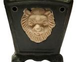 Green ceramic lion oil burner 2 burned thumb155 crop