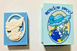 meadow sweet Eraser 1976' Blue Book Case Type Old SANRIO Retro Cute Super Rare - $41.80