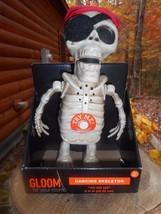 "Gloom for your room Dancing Musical 8"" Pirate Skeleton New Halloween Yo ... - $347,72 MXN"