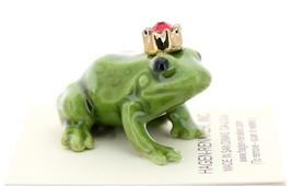 Hagen-Renaker Miniature Ceramic Frog Figurine Birthstone Prince 07 July image 2