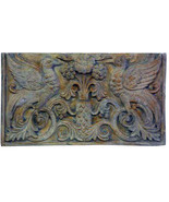 Early Christian Byzantine Two Birds Decorative Wall Sculpture relief pla... - $78.21