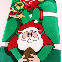 Hallmark Holiday Traditions Men's Football Santa Reindeer Christmas Tie - $18.00