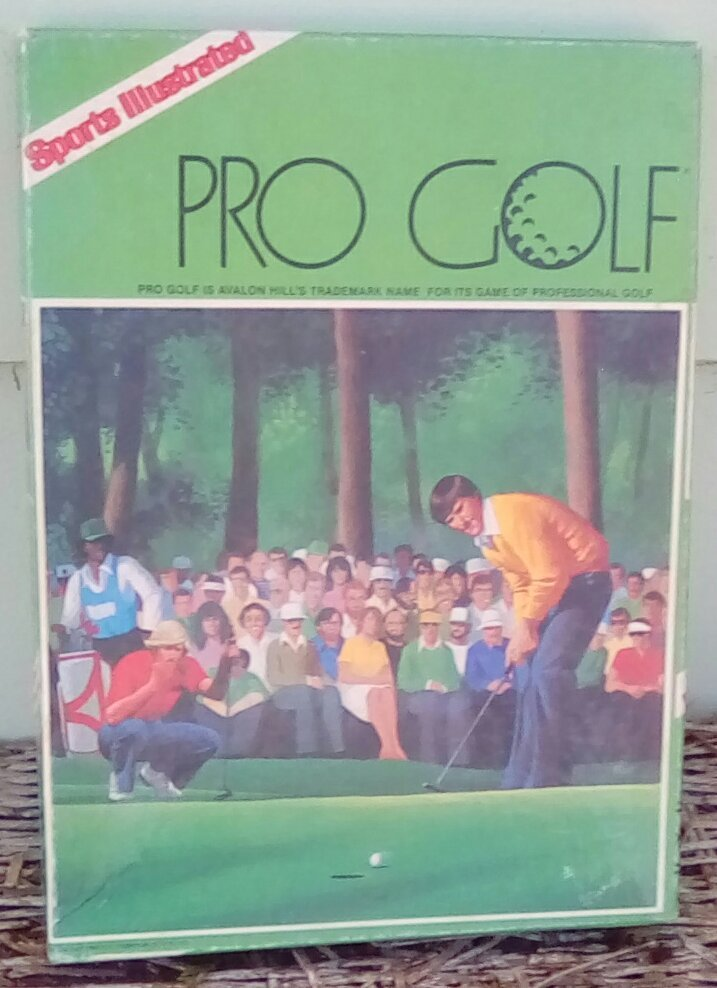 Primary image for Avalon Hill Sports Illustrated Pro Golf Game.  1984.  Vintage Game.  Y-211