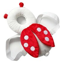 Creative Ladybug Baby's Head Protection Pad Headrest Angel Hat Drop Resistance H image 2