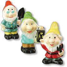 DOLLHOUSE Garden Gnomes Statues 1.823/8 Reutter Porcelain Figurines Miniature - $16.87