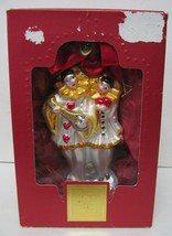 Lenox 2001 Our First Christmas Together Blown Glass Xmas Ornament w Original box - $39.92