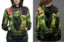 hulk close up image Hoodie Women's - $44.99+