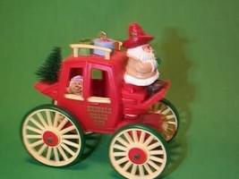 1988 Kringle Koach Here Comes Santa Hallmark  Ornament - $54.70