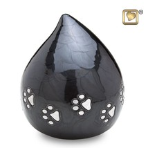 Midnight LoveDrop Pet Funeral Cremation Urn, 60 Cubic Inches - $73.50