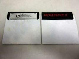 Commodore 64c Test Pilot Bundle Computer System 1541-II Disk Drive Games Box image 10