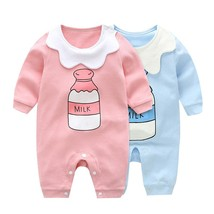 2019 Summer Baby Boy roupa de bebe Newborn Jumpsuit Long Sleeve Cotton P... - $15.60