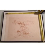 Edna Hibel / Hand Signed Numbered Stamped /Edition 195 2-10 / Listed / Rare - $282.15