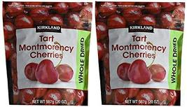 Kirkland Signature Dried Natural Cherries 20 Ounce (20 Ounce Bags (2 Pack)) - $33.65