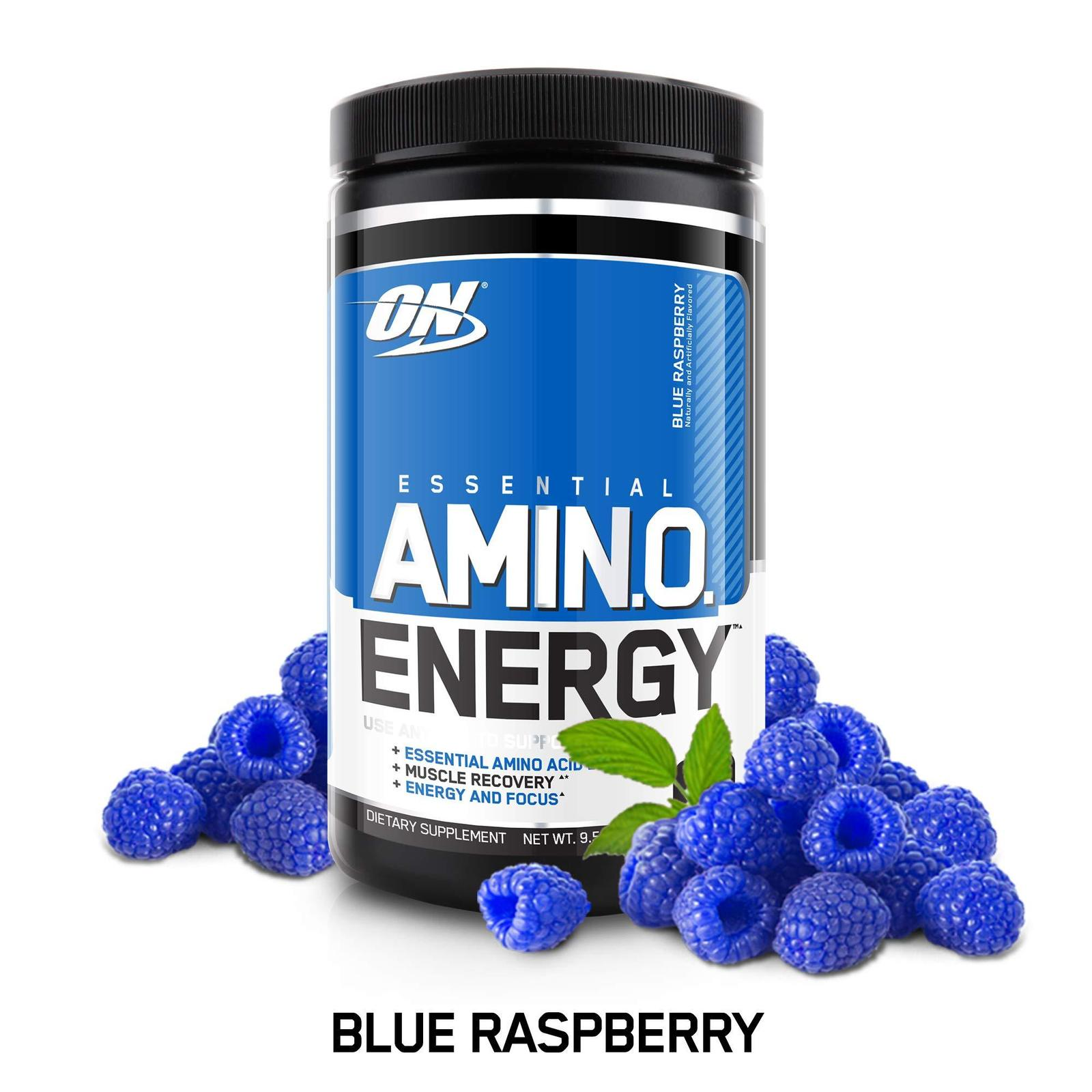 Primary image for Optimum Nutrition Amino Energy with Green Tea and Green Coffee (Blue Raspberry)