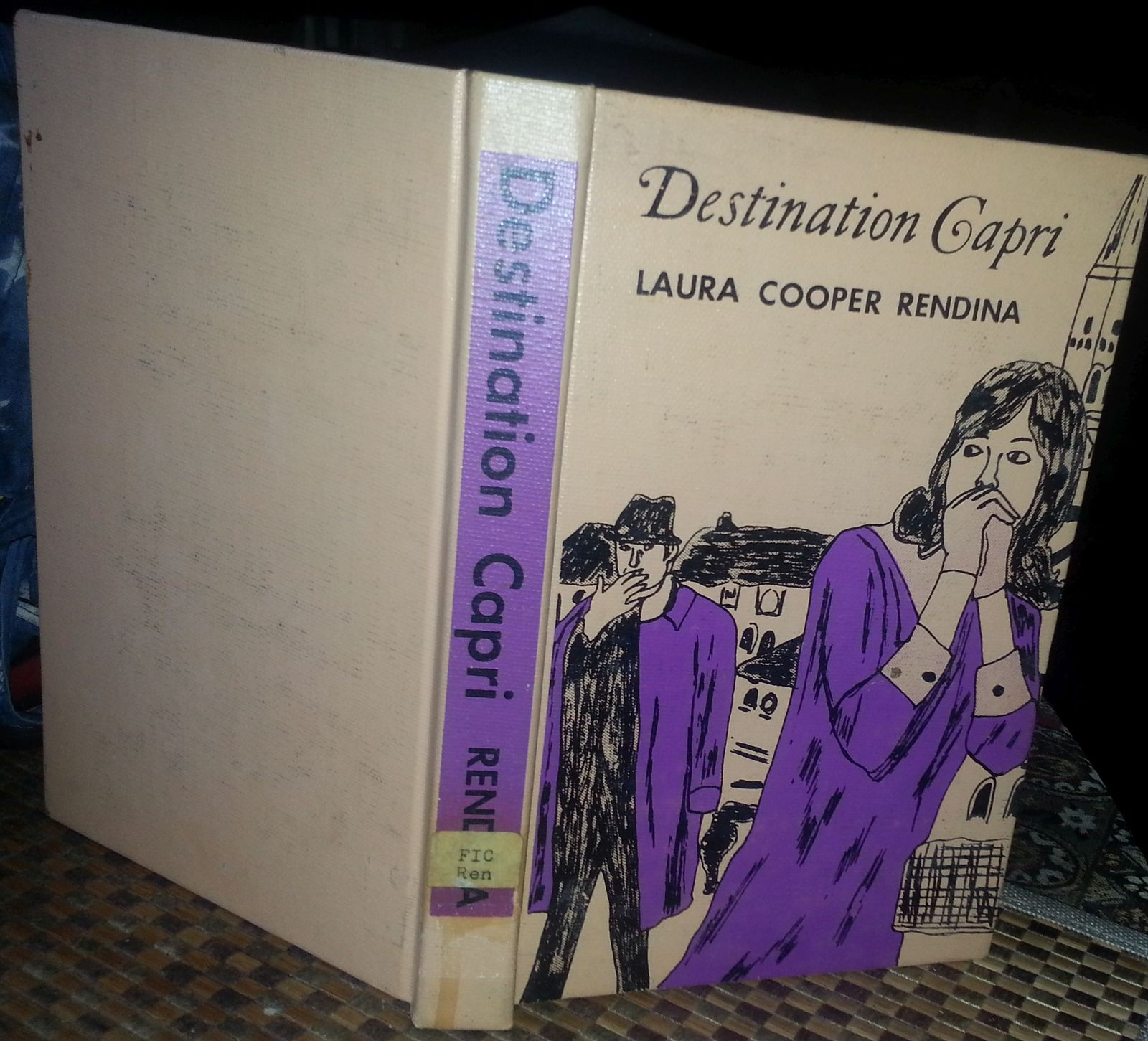 Destination Capri by Laura Cooper Rendina 1968 HB