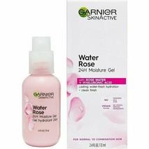 3 - Garnier Water Rose 24H Moisture Gel +Hyaluronic Acid - 2.4 Fl. Oz. Each - $21.99