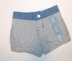 Baby Gap Infant Girls Shorts Blue Size 0-3 Months NWT - $9.74