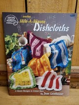 Mile-A-Minute Dishcloths 12 Dish Cloth Designs Crochet Pattern Booklet - $15.83