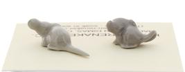 Hagen-Renaker Miniature Ceramic Mouse Figurine Tiny Baby Mice 2 Piece Set image 3