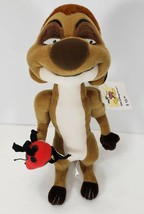 "The Lion King TIMON Meerkat Plush Toy 11"" tall with Disney World Tag - $14.99"