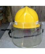 Cairns & Bros Yellow Firefighters Helmet Size Range 6.5 to 8 - $65.00