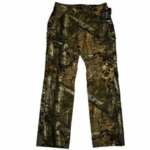 Under Armour Hunting Pants 34/32 Realtree Mid Season Wool Insulated Ridg... - $111.22