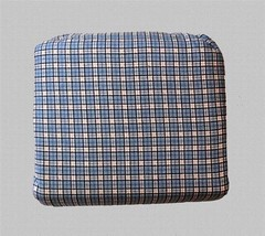 Tommy Hilfiger WYNDHAM Blue Plaid  4-Pc Fabulous Flannel FULL Sheet Set NIP - $62.99