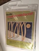 "NIP Bucilla Creative Needlecraft Needle Craft Birch Trees 2233 22 x 28"" - $17.59"