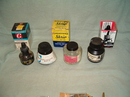 Ink Lot For Calligraphy, Higgins, Grumbacher, Sheaffer, Parker, Osmiroid PRE-OWN - $18.00