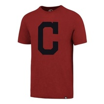 Cleveland Indians Men's MLB Red Scrum Tee Shirt '47 Brand