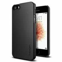 Spigen iPhone 5 / 5s / SE Thin Fit Slim Protection Black (041CS20168) - $18.23