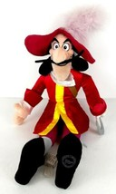 "Disney Store Exclusive Captain Hook Large 22"" Plush Stuffed Toy from Pet... - $24.99"