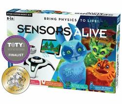 NEW Thames & Kosmos Sensors Alive: Bring Physics to Life Stem Experiment Kit