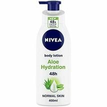 NIVEA Body Lotion, Aloe Hydration, with Aloe Vera, for Men & Women, 400 ... - $18.11+