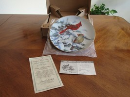 Red Cardinals of Winter Hamilton Collection 1989 O'Driscoll Plate Number 1072A - $9.99