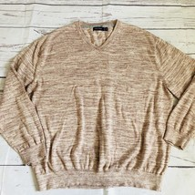 Men's Nautica Sweater Size 3x V-Neck Pullover Cotton Sweater - $14.01