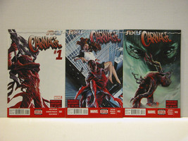 CARNAGE #1, 2 AND 3 - MARVEL COMICS - FREE SHIPPING - $28.05