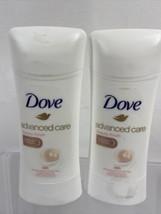 (2) Dove Advanced Care Antiperspirant Deodorant, Beauty Finish 2.6oz 10/21 - $8.99