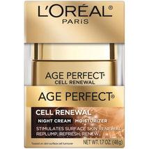 L'oreal Age Perfect Cell Renewal Night Cream - 1.7 OZ - $12.25