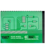 1987 Chrysler Plymouth Dodge Wiring Manual Rear Wheel Drive Models - $13.72