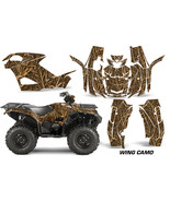 ATV Graphics Kit Quad Decal Wrap For Yamaha Grizzly 550/700 2015-2016 WI... - $267.25