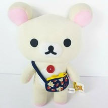 "Korilakkuma Rilakkuma Plush Toy Bear Purse Strawberry 16"" Stuffed Animal - $25.75"