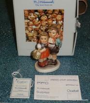 "Goebel Hummel Figurine ""Surprise"" #94 3/0 TMK6 With Original Box - GREAT... - $126.09"