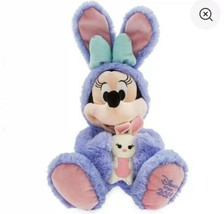 "Disney Store Easter MINNIE Medium 18"" Plush 2019 - $23.52"