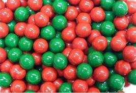 Green & Red Mix Sixlets Candy Coated Chocolate Balls - $17.51