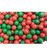 Green & Red Mix Sixlets Candy Coated Chocolate Balls - $21.04